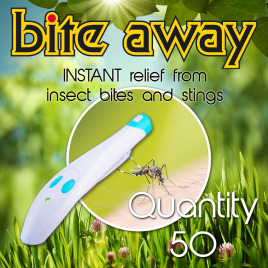 Bite Away ® – Insect Bite Healer (Qty 50)